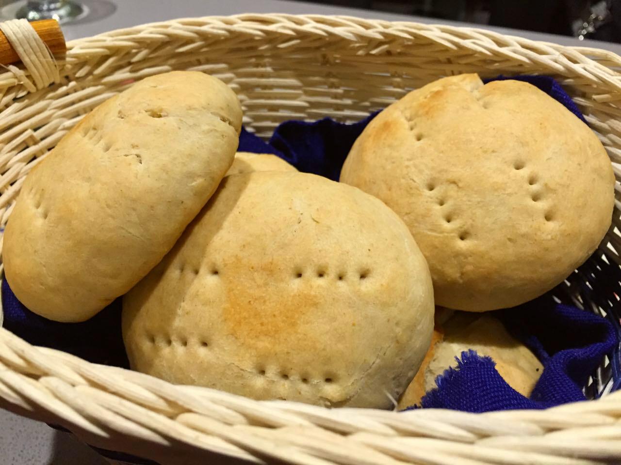 Receta pan amasado casero