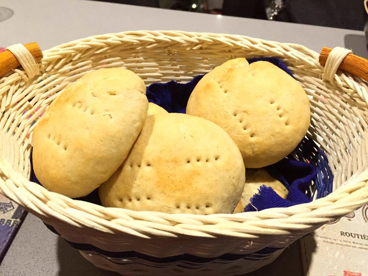 Receta pan amasado para 2 personas